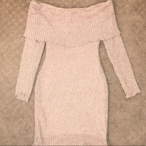 Windsor off the shoulder sweater dress 👗